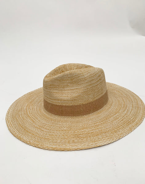 Saint Martin Wide Brim Straw Hat