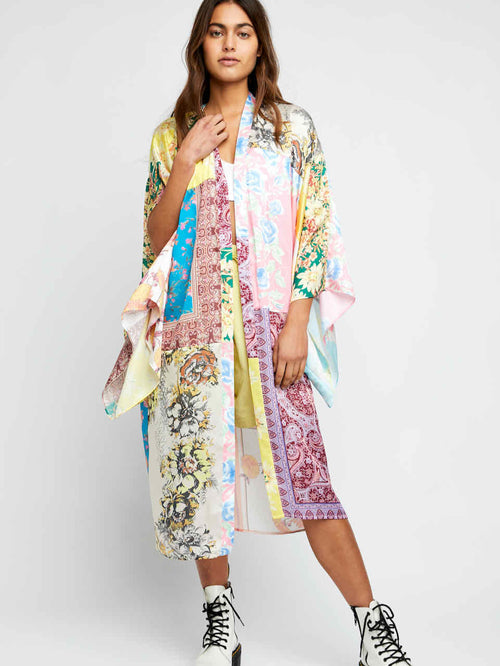 Patched with Love Robe