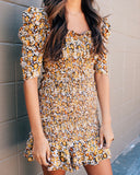 Autumn Floral Dress