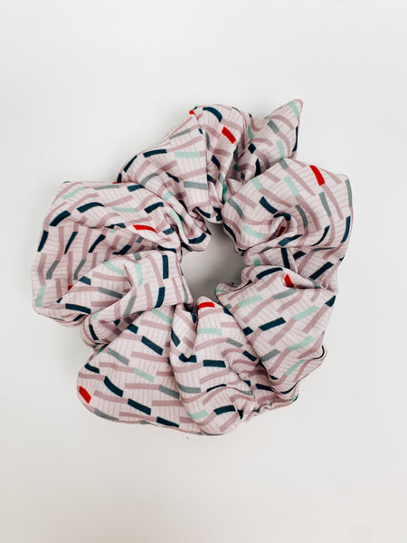 Line & Dot Scrunchie