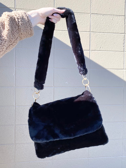 Bear-y Soft Shoulder Bag