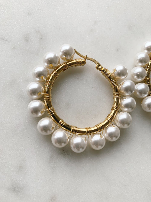 Callie Pearl Hoops