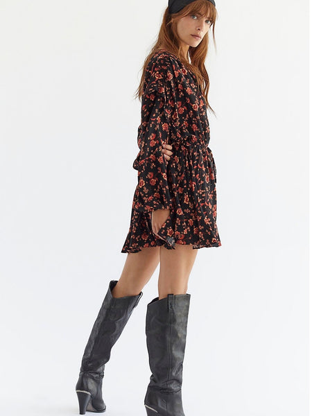 Flower Fields Mini Dress