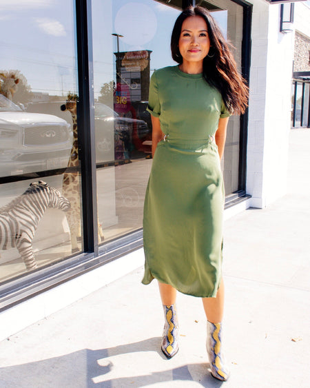 Kylie Leopard Dress