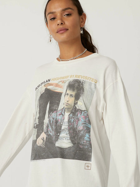 Bob Dylan Highway 61 Oversized Long Sleeve
