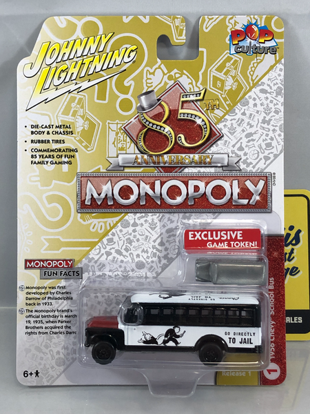 Johnny Lightning Monopoly Anniversary Series