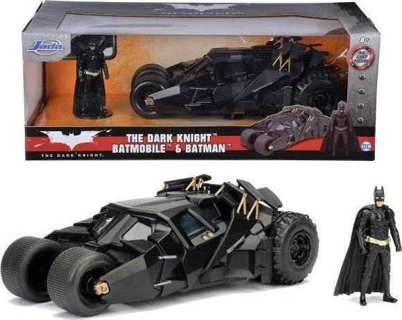 Jada - The Dark Knight Batmobile & Batman - Hollywood Rides
