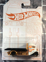 Hot Wheels SATIN & CHROME white - gold Series