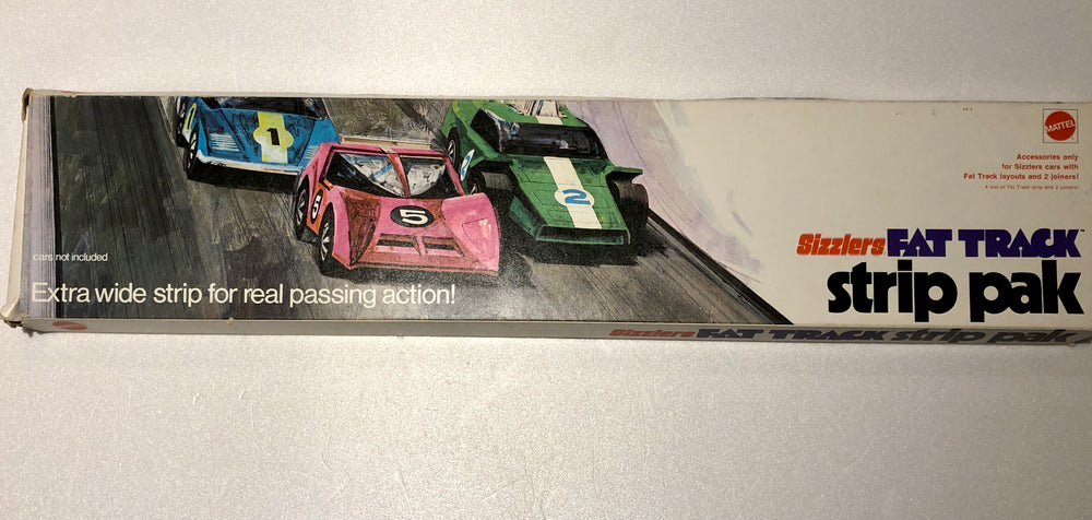 Hot Wheels Sizzlers Fat Track Strip Pak from 1971 - NEW OLD STOCK