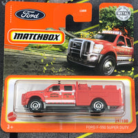 Matchbox Mainline - Ford F-550 Super Duty