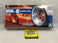 AOSHIMA 1:24 scale Wheels Sets