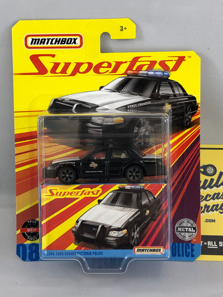 2006 Ford Crown Victoria Police - Matchbox Superfast