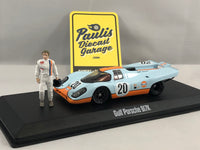 GULF Porsche 917k - Steve McQueen Collection 1:43