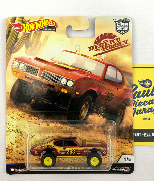 Hot Wheels Car Culture - Desert Rally