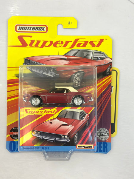 1974 Dodge Challenger  - Matchbox Superfast