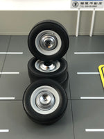 GMP - Dog Dish Wheel and Tire Set - 1:18
