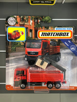 Matchbox Working Rigs - MAN TGS Flatbed Cargo Hauler