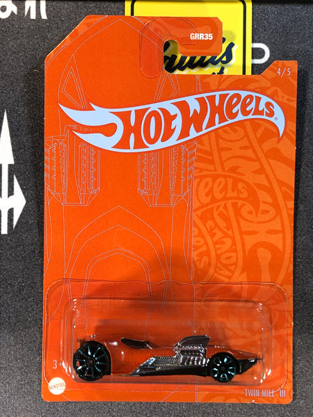 Hot Wheels SATIN & CHROME Twin Mill III