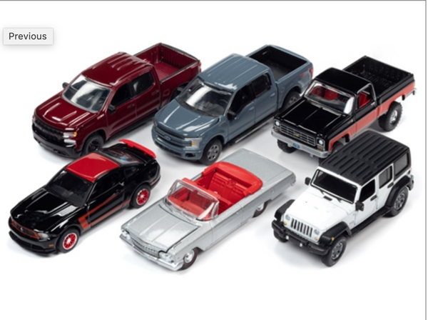 Auto World Premium 2020 Release 3 Set of 6
