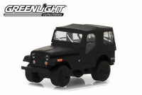 Greenlight 1970 Jeep CJ-5 - Black Bandit