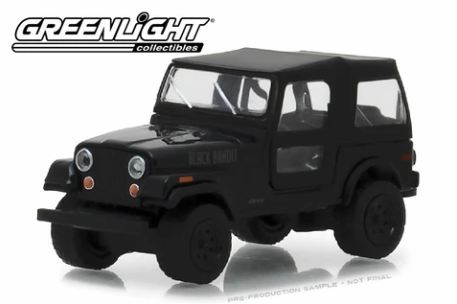 Greenlight 1976 Jeep CJ-7 - Black Bandit