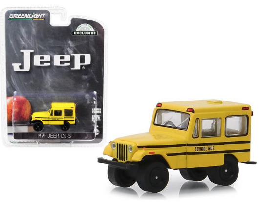 Greenlight - 1974 Jeep DJ-5