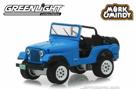 Greenlight - Mork & Mindy - 1972 Jeep CJ-5