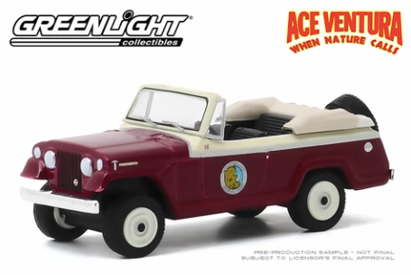 Greenlight - 1967 Jeep Jeepster Convertible