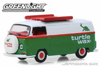Greenlight - 1972 Volkswagen Type 2 Panel Van - Turtle Wax