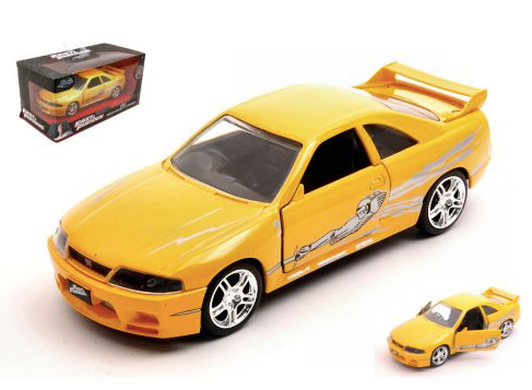 Jada - Leon´s Nissan Skyline GT-R R33 Fast and Furious - Hollywood Rides
