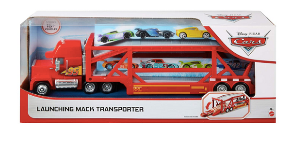 Mattel - Disney Pixar CARS - Mack Hauler - Biltransport