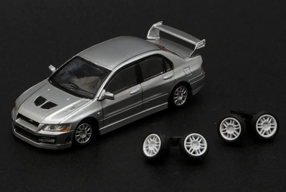 BM Creations - Mitsubishi Lancer Evolution VII - silver
