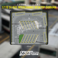 Dream Customs - 1/110 Singapore Bus Interchange Desktop Diorama