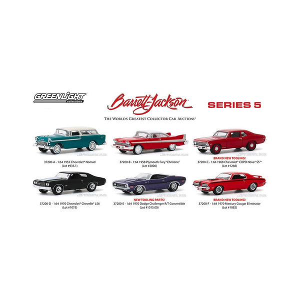 Greenlight Barrett Jackson Series 5  - 1:64