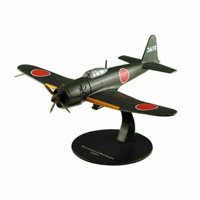 DeAgostini - Mitsubishi A7M2 Reppu Japanese Army Air Force Fighter - WW2 Fighter Plane