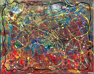 Pollock-Richter Project© Collection by Giacobbe Mazone