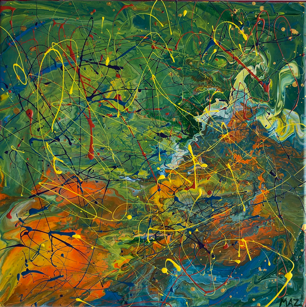 Pollock-Richter Project© (#447)