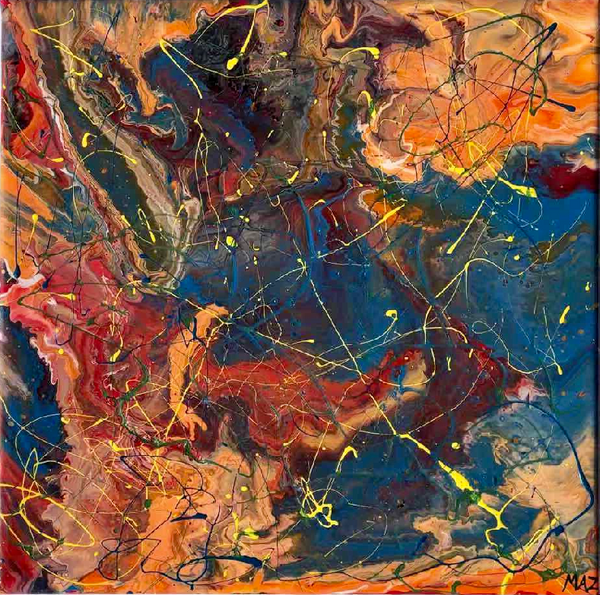 Pollock-Richter Project© (#464)
