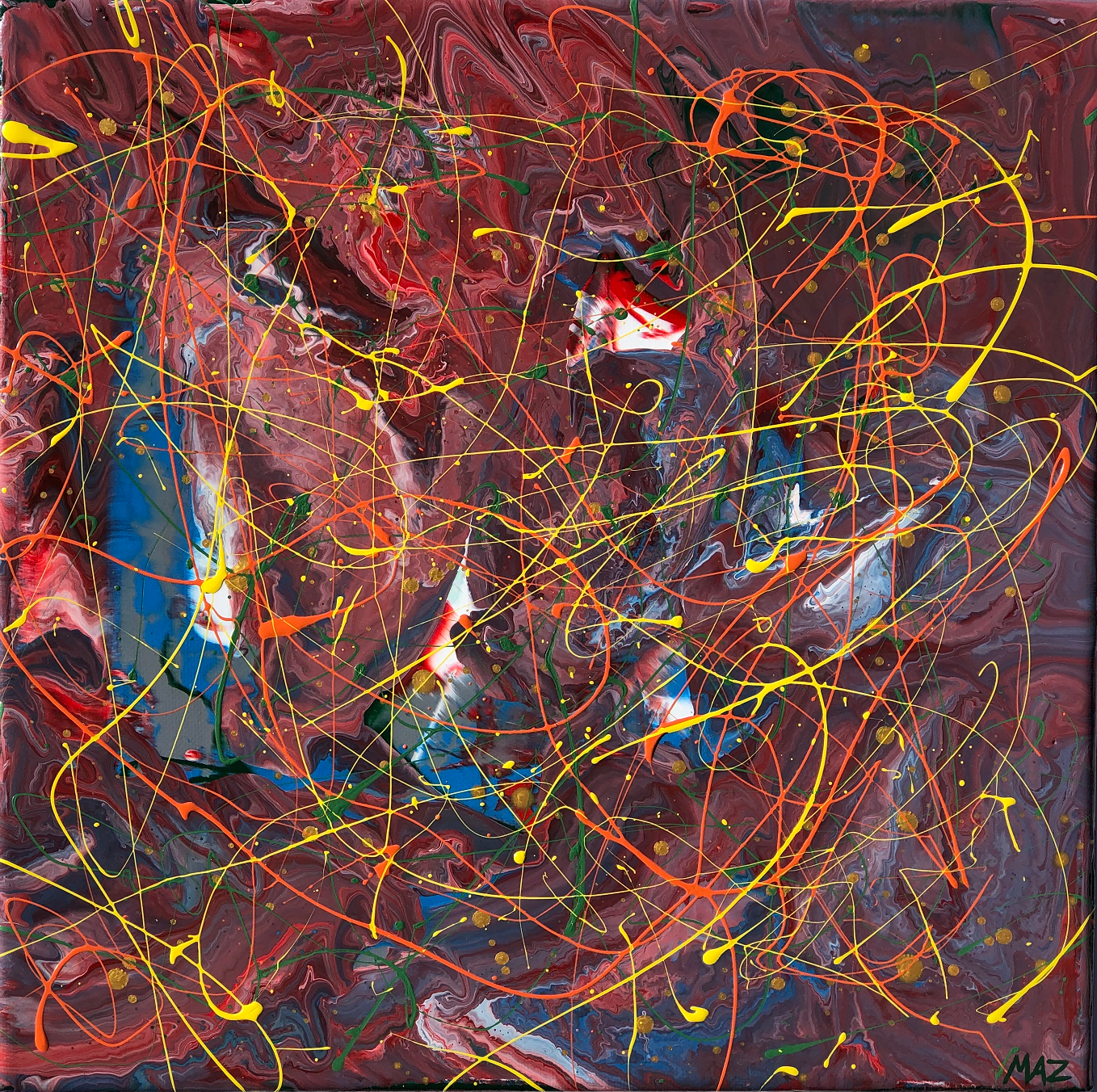 Pollock-Richter Project© (#472)