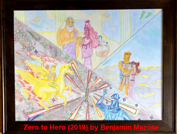 Zero to Hero (2019) Original by Benjamin Mazone
