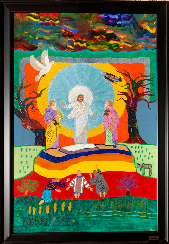 The Transfiguration (2016) Original Painting by Giacobbe Mazone