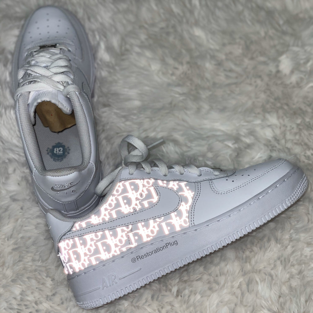 nike air force 1 reflective