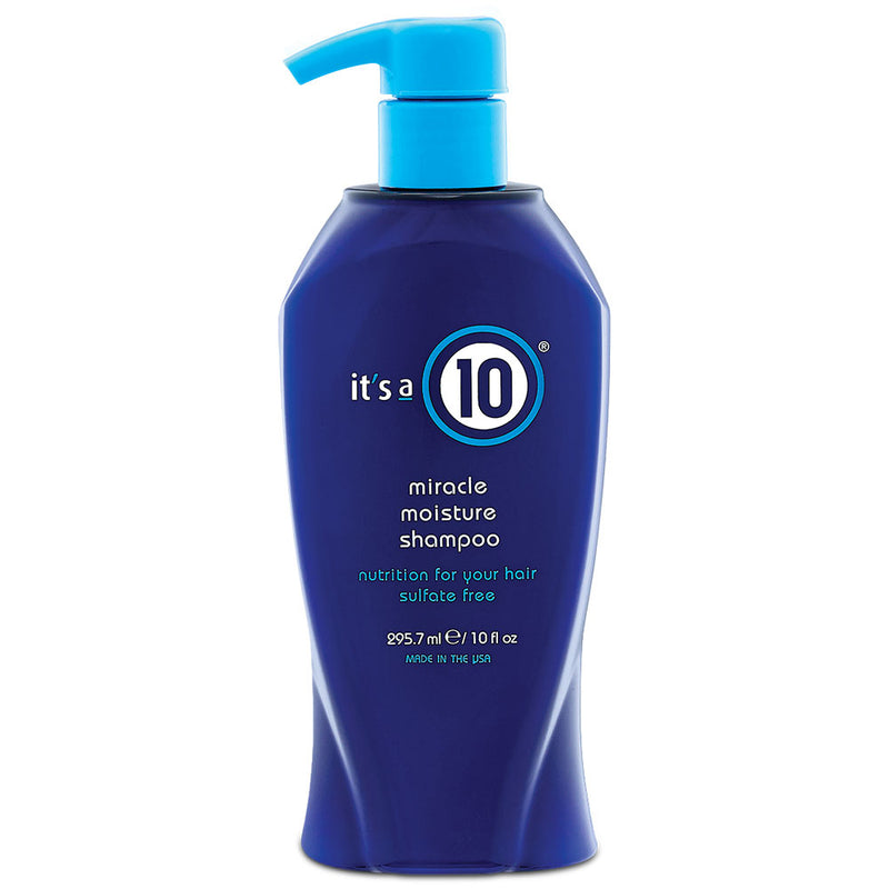 It's a 10 Miracle Moisture Shampoo 295ml