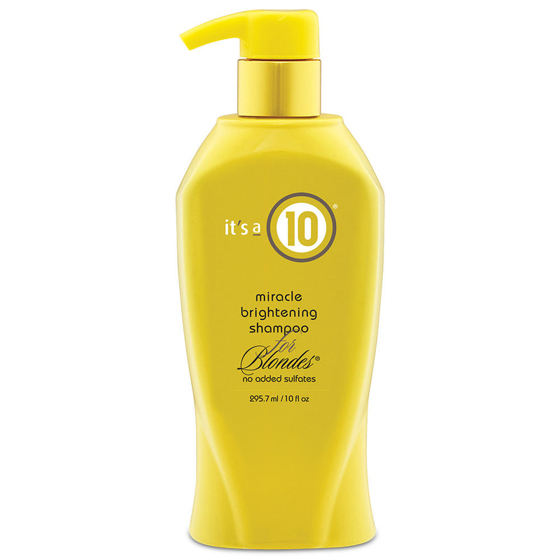 It's a 10 Miracle Brightening Shampoo for Blondes 295ml