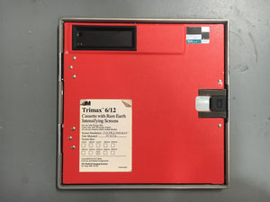 3M 24cm x 24cm Trimax 6/12 Cassette with Rare Earth Intensifying Screens