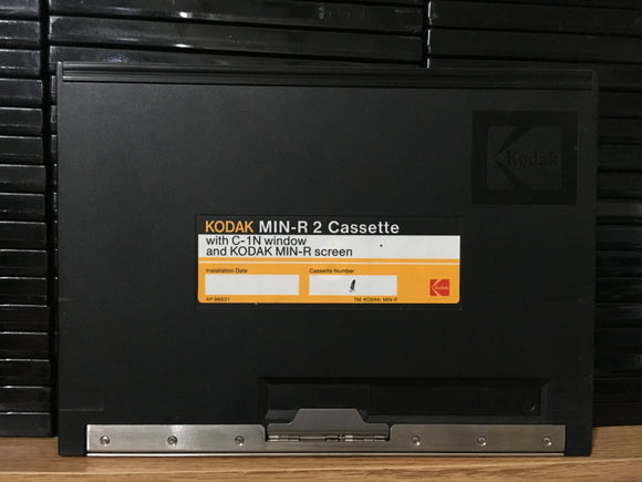 Kodak 18cm x 24cm Min-R 2 Cassette with C-1N Window, Kodak Min-R Screen
