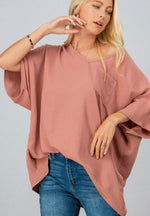 Load image into Gallery viewer, Can't Get Enough Peach Blouse