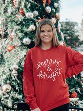 Load image into Gallery viewer, Merry & Bright Pullover