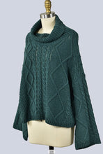 Load image into Gallery viewer, In The Mood Sweater- Green