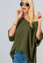 Load image into Gallery viewer, Can't Get Enough Olive Blouse